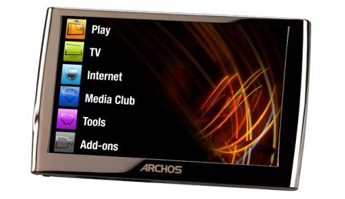 Archos presenta su nueva generación de reproductores, Imagen 1