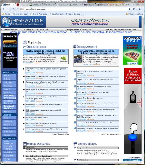 Chrome, el navegador de Google, Imagen 2