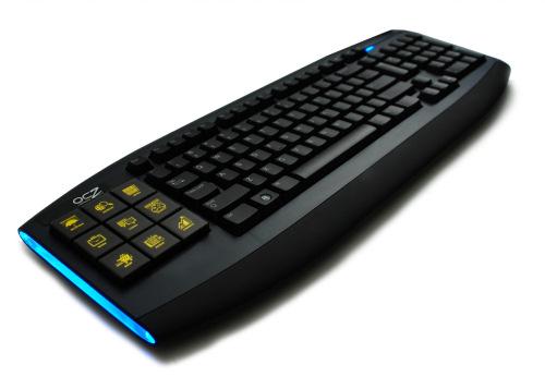 Un poco de OLED para el próximo teclado de OCZ, Imagen 1