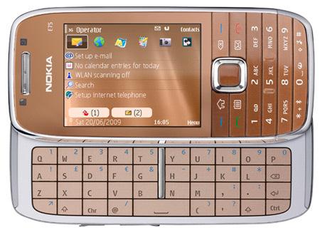 Nokia anuncia la disponibilidad del nuevo E75, Imagen 1