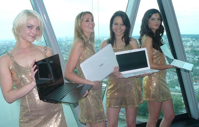 MSI nos muestra sus nuevos portátiles X Slim con Intel CULV y sus nuevos Wind Top, Imagen 1
