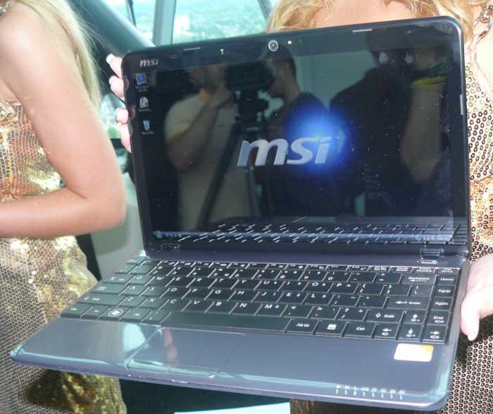 MSI nos muestra sus nuevos portátiles X Slim con Intel CULV y sus nuevos Wind Top, Imagen 2