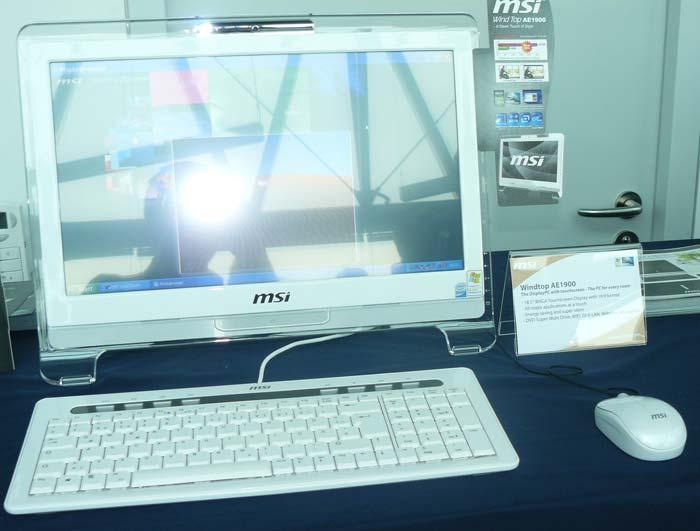 MSI nos muestra sus nuevos portátiles X Slim con Intel CULV y sus nuevos Wind Top, Imagen 3