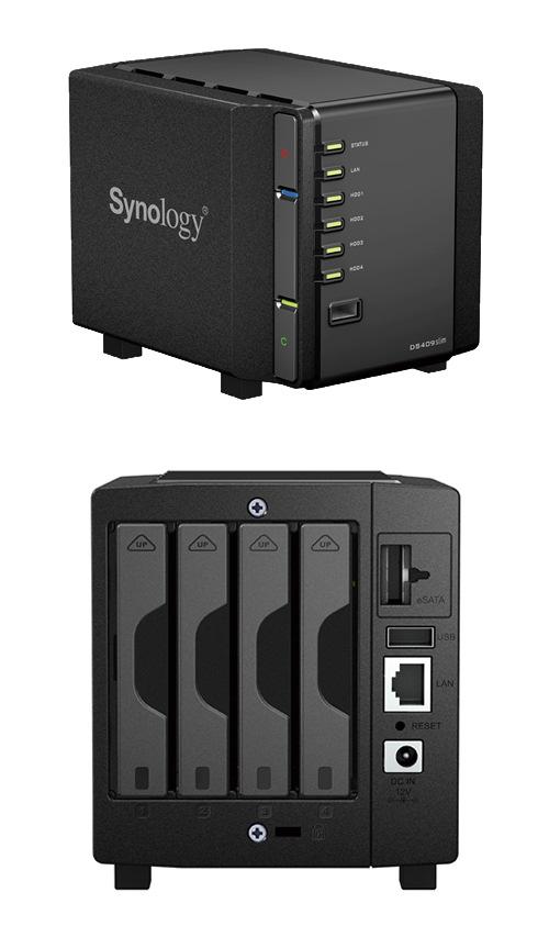 Synology sorprende con su nuevo DS-409 Slim, Imagen 1