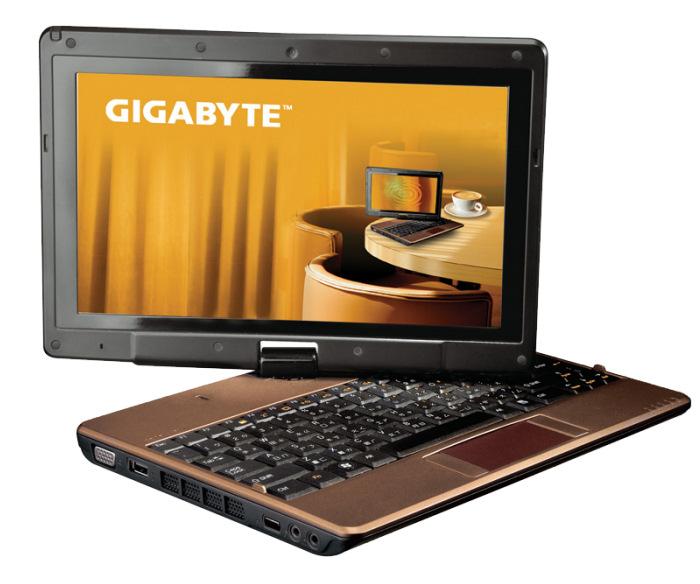 GIGABYTE actualiza sus ordenadores Tablet con el T1028X, Imagen 1