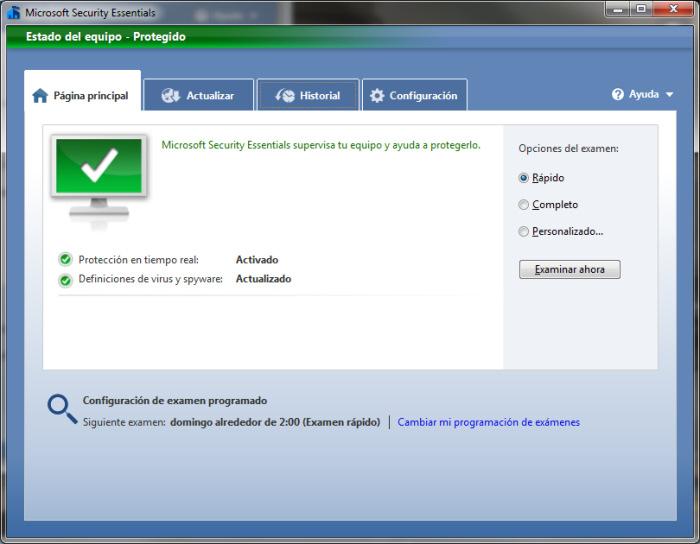 Microsoft ha publicado hoy la versión final de Security Essentials, Imagen 2