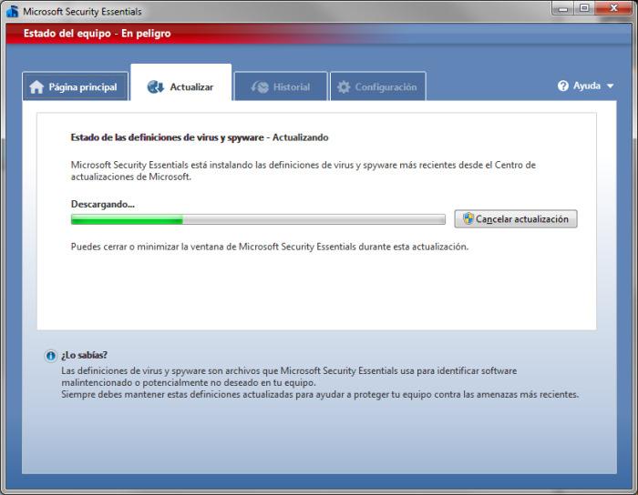 Microsoft ha publicado hoy la versión final de Security Essentials, Imagen 1