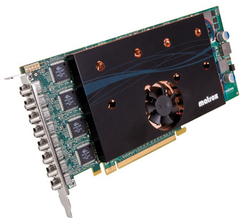 Matrox introduce nuevas tarjetas con soporte de hasta 8 monitores, Imagen 1