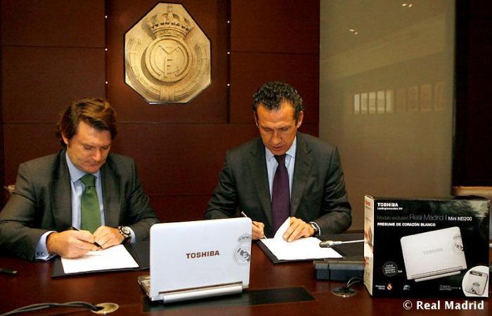 Toshiba presenta el Netbook del Real Madrid, Imagen 1