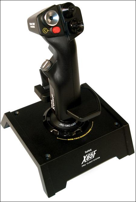 Saitek presenta el X65F. Tecnología de caza del siglo XXI en tu PC, Imagen 2