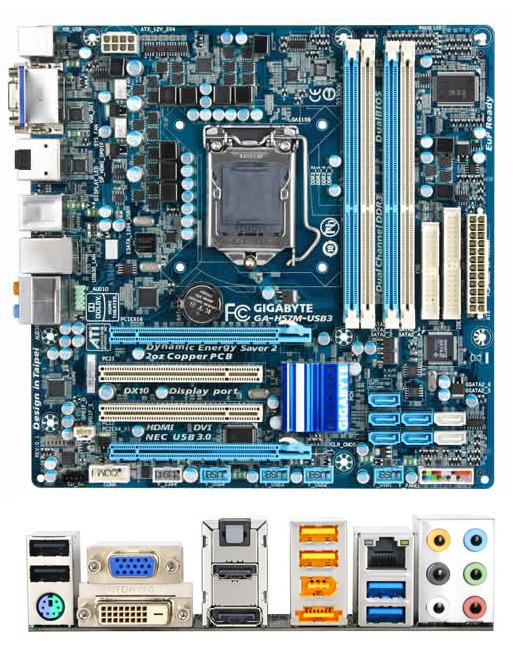 Gigabyte hace oficiales sus nuevas placas H55 y H57, Imagen 1