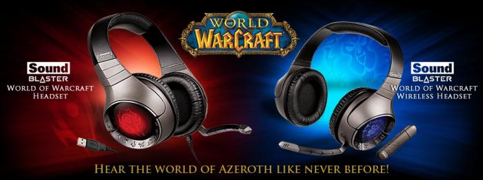 Dos nuevos auriculares de Creative inspirados en World of Warcraft, Imagen 1