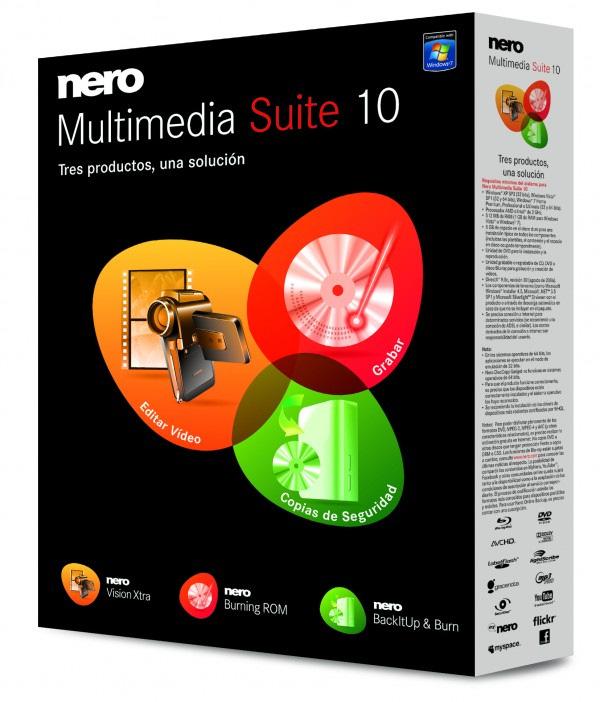 Nero ya va por la versión 10, Imagen 1