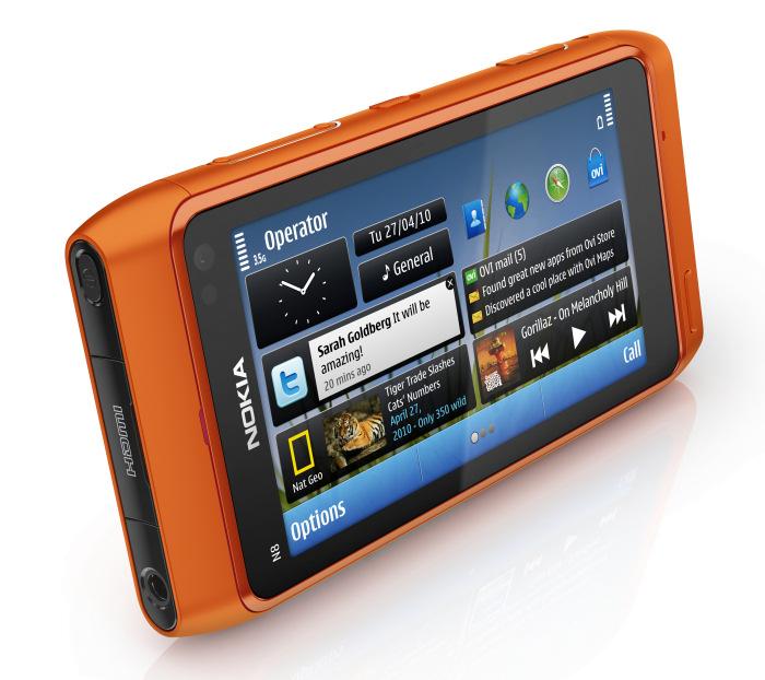 Nokia N8 es el primer dispositivo con Symbian^3, Imagen 1