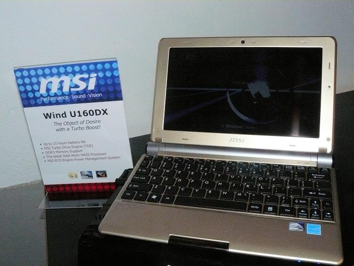 MSI actualiza el U160 con los nuevos Atom para DDR3, Imagen 2
