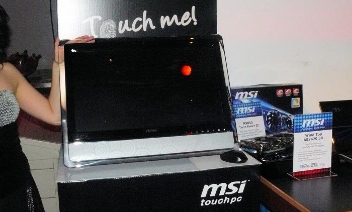 MSI Wind Top AE2420 3D. El primer AIO 3D y táctil, Imagen 1
