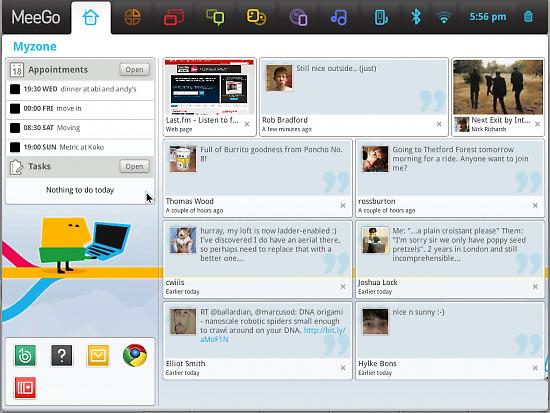 Nokia e Intel finalizan la primera versión de MeeGo, Imagen 1