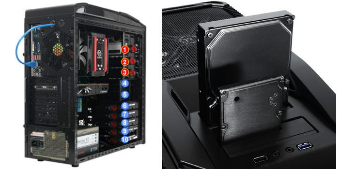 Nueva VX9 de Thermaltake con doble bahía de disco, Imagen 2