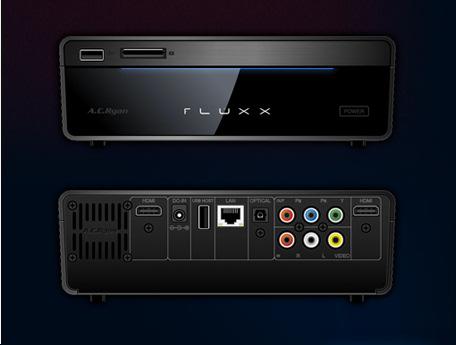 AC Ryan Fluxx. Reproductor inteligente con procesador Atom, Imagen 1
