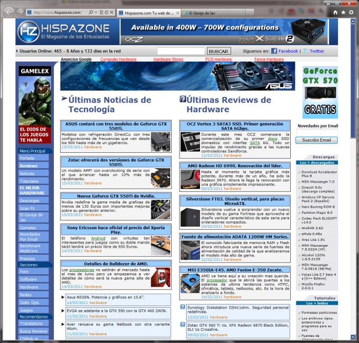 Internet Explorer 9 Final, Imagen 1