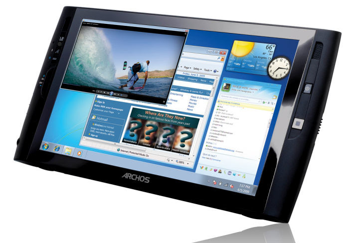 Archos rediseña su Tablet Windows, Imagen 1