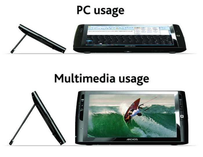 Archos rediseña su Tablet Windows, Imagen 2