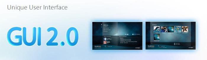 AC-Ryan hace extensible su GUI 2.0 a sus primeros modelos, Imagen 1