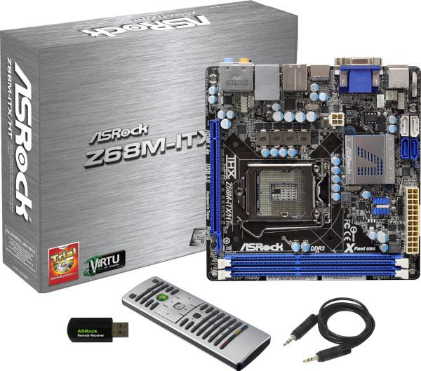 Asrock presenta nueva placa base mini-ITX: Z68M-ITX/HT, Imagen 1