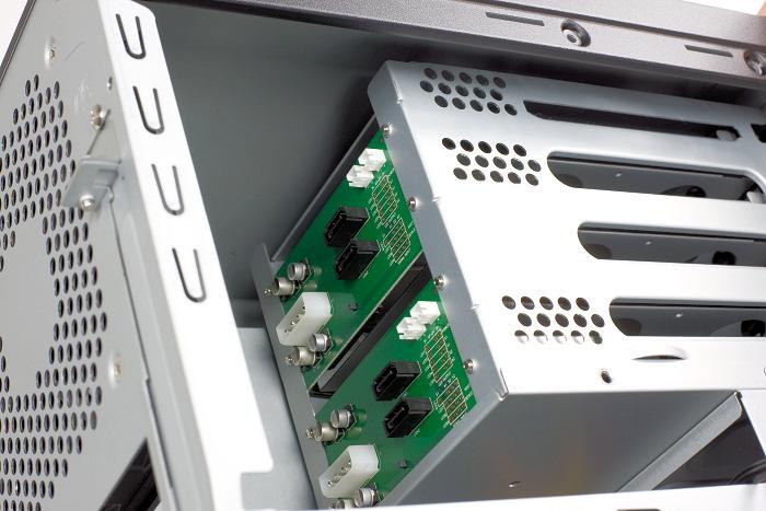 Eolize presenta nueva caja NAS para placas Mini-ITX, Imagen 2
