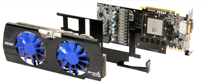 MSI Nvidia Geforce N580GTX Lighting Xtreme edition, Imagen 2
