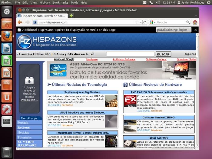 """Ubuntu """"Oneiric Ocelot"""" 11.10, Imagen 1"""