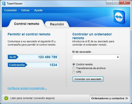 TeamViewer 7. Más control remoto a coste cero, Imagen 1