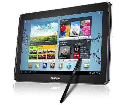 WMC 2012. Samsung Galaxy Note 10.1, Imagen 1