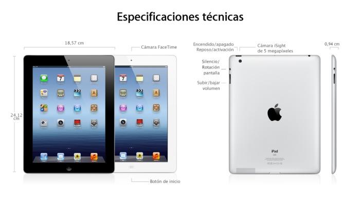 Nuevo iPad de Apple, Imagen 1