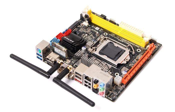 Zotac presenta sendas placas Mini-ITX con chipset 77 de Intel, Imagen 2