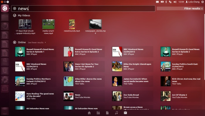 Ubuntu 12.04 apuesta por el mercado profesional, Imagen 1