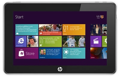 HP prepara una Tablet profesional con Windows 8, Imagen 1