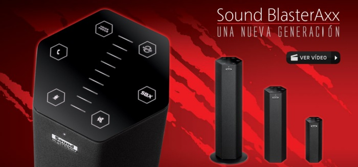 Creative lanza los nuevos Sound BlasterAxx, Imagen 1
