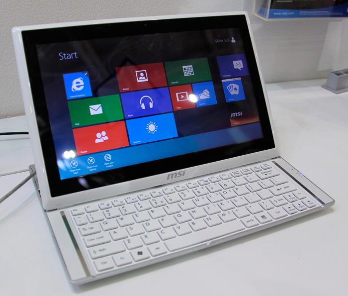 Computex 2012. MSI. Slider S20, Imagen 1