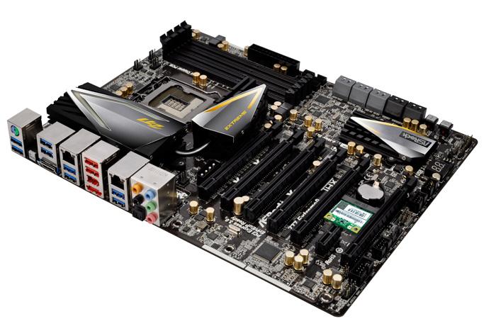 Computex 2012. ASRock. Placas base Z77, Imagen 1