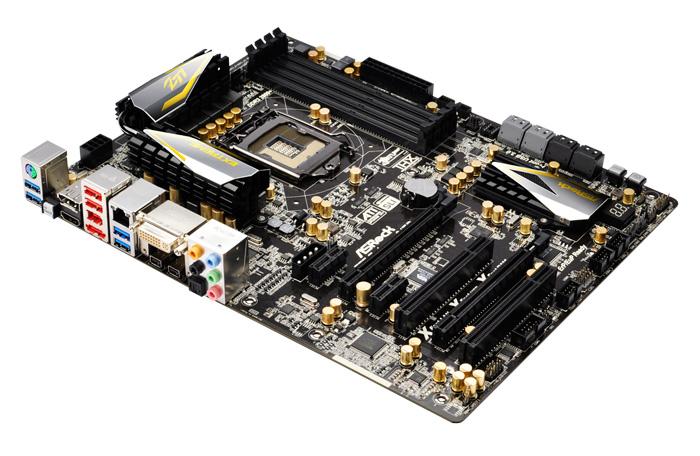 Computex 2012. ASRock. Placas base Z77, Imagen 3