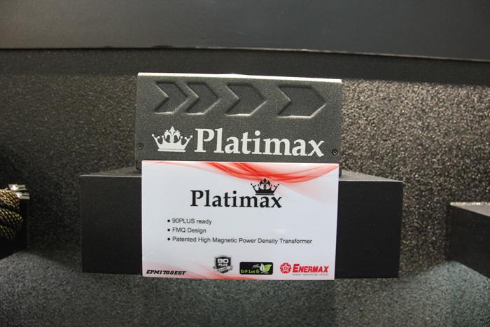 Computex 2012. Enermax. Platimax 1700 W, Imagen 1