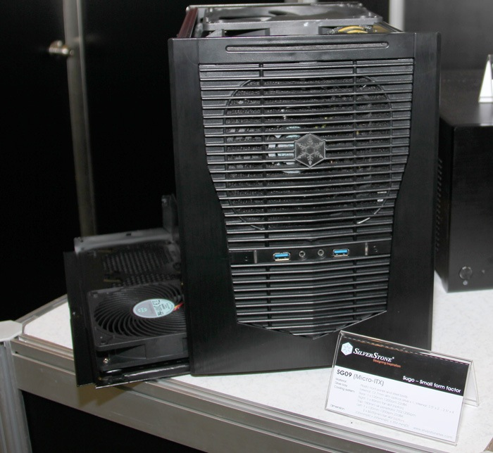 Computex 2012. Silverstone. Sugo SG09, Imagen 1