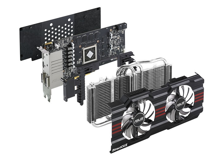 Asus HD 7850 DirectCU II Dragon Edition, Imagen 1