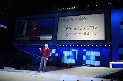 Microsoft lanzará Windows 8 el 26 de Octubre, Imagen 1
