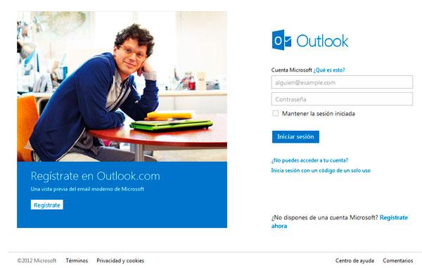 Microsoft lanza Outlook.com, su nuevo servicio de correo electrónico, Imagen 1