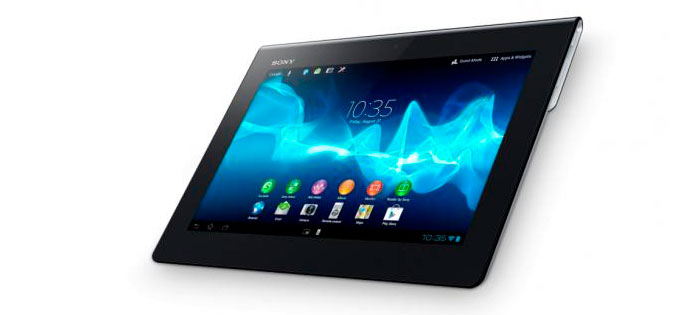 Sony muestra su nueva tableta, Imagen 1