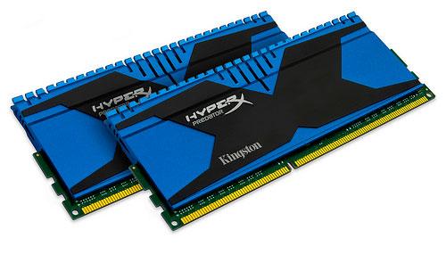 Nuevas memorias DDR3 Kingston HyperX Predator, Imagen 1