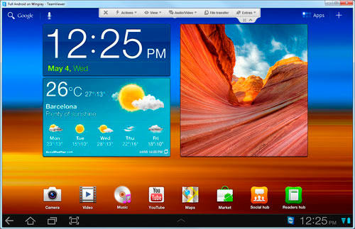TeamViewer QuickSupport: control remoto de dispositivos Android de Samsung, Imagen 2