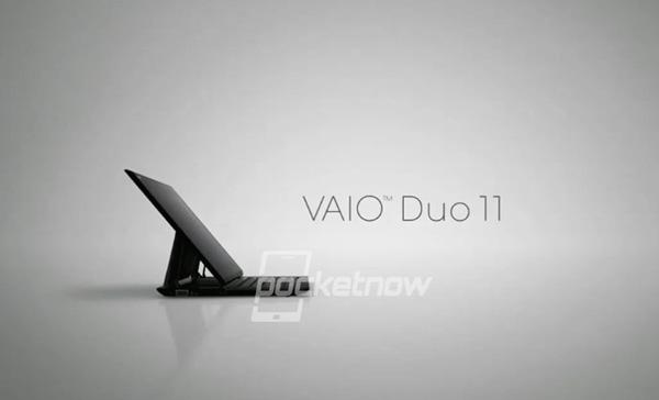 Primeras imágenes del tablet convertible Sony Vaio Duo 11, Imagen 2